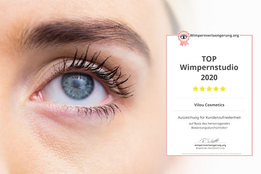 TOP Wimpernstudio 2020